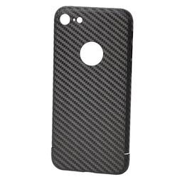 Nevox Originele Carbon Back Cover Hoesje voor de iPhone 8 - Zwart