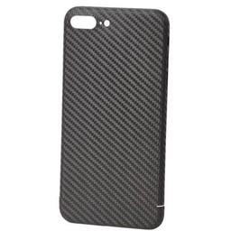 Nevox Originele Carbon Back Cover Hoesje voor de iPhone 8 Plus - Zwart