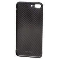Nevox Originele Carbon Back Cover Hoesje voor de Apple iPhone 8 Plus - Zwart