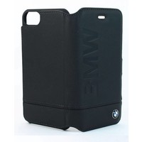 BMW Originele Signature Debossed Logo Folio Bookcase voor de Apple iPhone 6 / 6S / 7 / 8 - Zwart