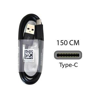 Samsung Type-C Originele 150cm Data + oplaadkabel - Zwart