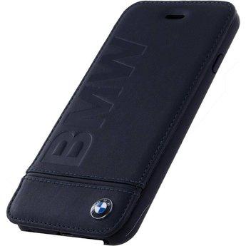 BMW Originele Signature Debossed Logo Folio Bookcase voor de Apple iPhone 6 / 6S / 7 / 8 - Zwart