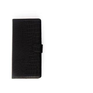 Krokodillen design Lederen Bookcase hoesje voor de Samsung Galaxy Note 8 - Zwart