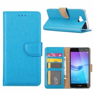 Bookcase Huawei Y6 2017 hoesje - Blauw