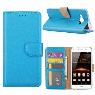 Bookcase Huawei Y3 2017 hoesje - Blauw