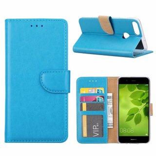 Bookcase Huawei P Smart hoesje - Blauw