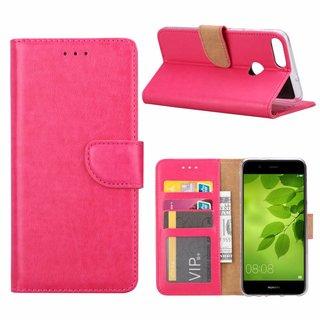Bookcase Huawei P Smart hoesje - Roze