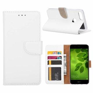 Bookcase Huawei P Smart hoesje - Wit