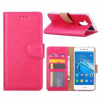 Bookcase Huawei Nova Smart hoesje - Roze