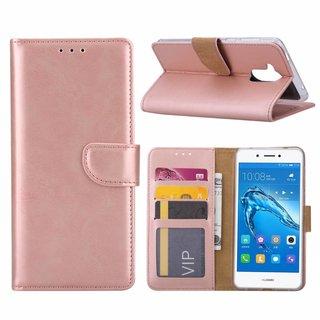 Bookcase Huawei Nova Smart hoesje - Rosé Goud