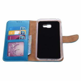 Bookcase Samsung Galaxy A7 2017 hoesje - Blauw
