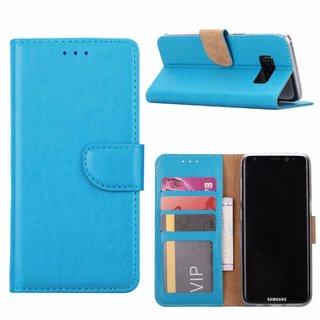 Bookcase Samsung Galaxy S8 hoesje - Blauw