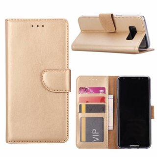 Bookcase Samsung Galaxy S8 hoesje - Goud