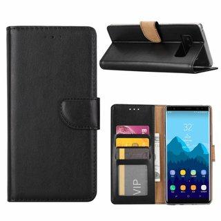 Bookcase Samsung Galaxy Note 8 hoesje - Zwart