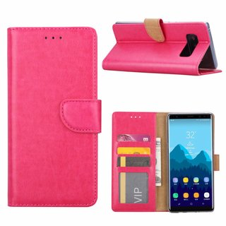 Bookcase Samsung Galaxy Note 8 hoesje - Roze