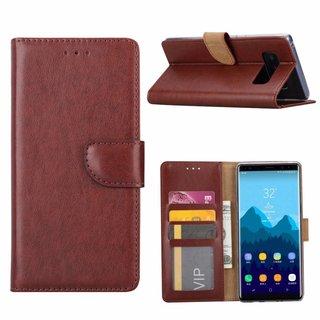 Bookcase Samsung Galaxy Note 8 hoesje - Bruin