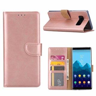 Bookcase Samsung Galaxy Note 8 hoesje - Rosé Goud