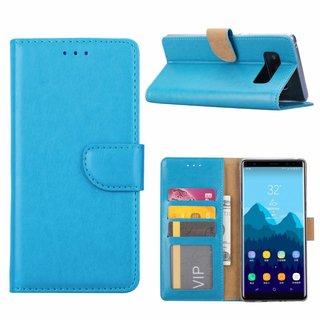 Bookcase Samsung Galaxy Note 8 hoesje - Blauw