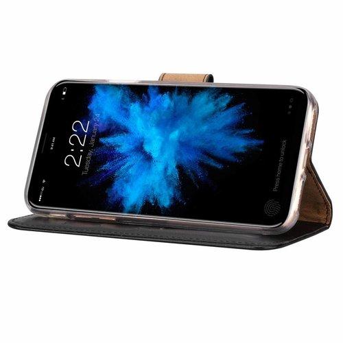 Bookcase Apple iPhone X hoesje - Zwart