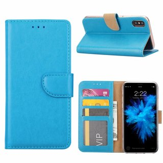 Bookcase Apple iPhone X hoesje - Blauw