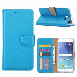 Bookcase Samsung Galaxy J7 2016 hoesje - Blauw