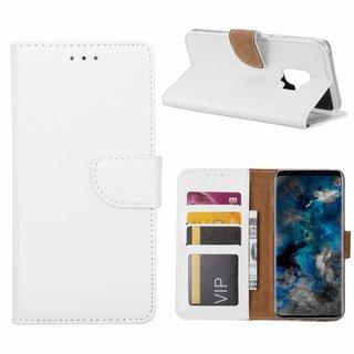 Bookcase Samsung Galaxy S9 hoesje - Wit