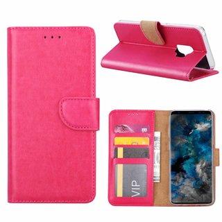 Bookcase Samsung Galaxy S9 hoesje - Roze
