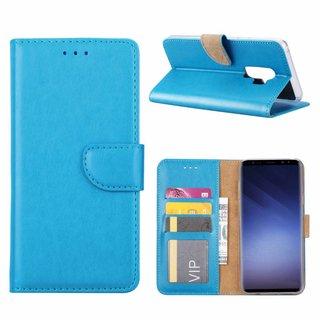 Bookcase Samsung Galaxy S9 Plus hoesje - Blauw