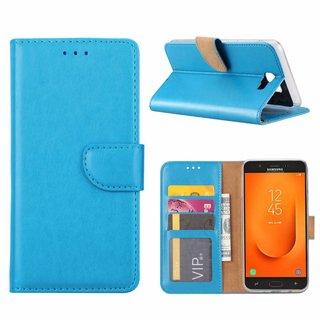 Bookcase Samsung Galaxy J7 Prime 2 hoesje - Blauw