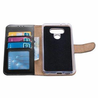 Bookcase LG G6 hoesje - Zwart