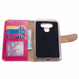 Bookcase LG G6 hoesje - Roze