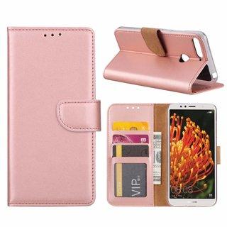 Bookcase Huawei Y6 2018 hoesje - Rosé Goud