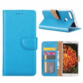 Bookcase Huawei Y6 2018 hoesje - Blauw