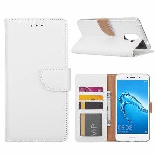 Bookcase Huawei Y7 Prime hoesje - Wit