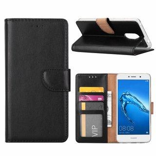 Bookcase Huawei Y7 Prime hoesje - Zwart
