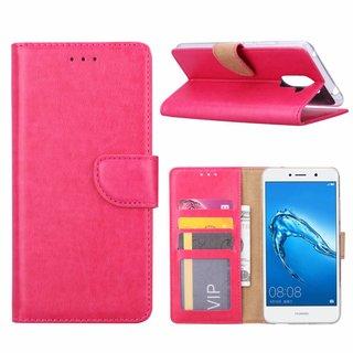 Bookcase Huawei Y7 Prime hoesje - Roze