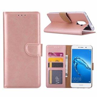Bookcase Huawei Y7 Prime hoesje - Rosé Goud