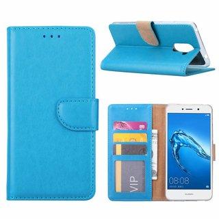 Bookcase Huawei Y7 Prime hoesje - Blauw
