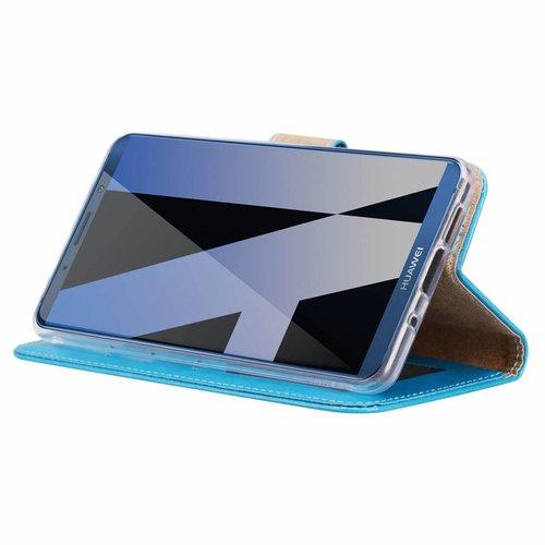 Bookcase Huawei Mate 10 hoesje - Blauw