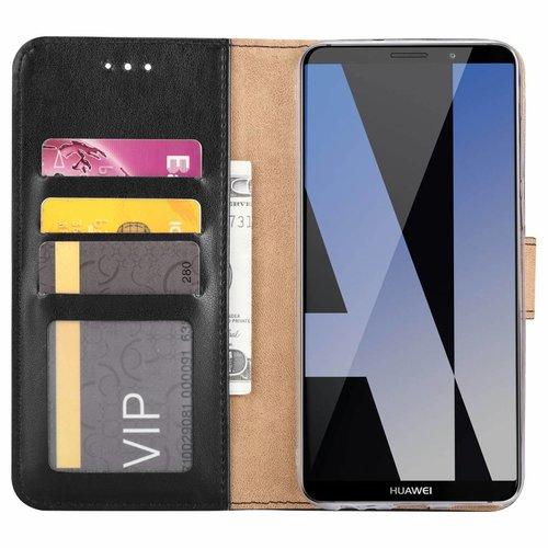 Bookcase Huawei Mate 10 Lite hoesje - Zwart