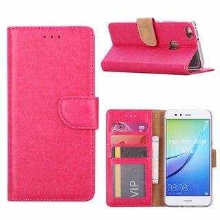 Bookcase Huawei Nova hoesje - Roze