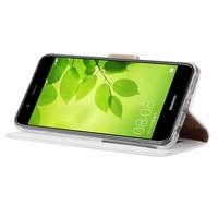 Bookcase Huawei Nova 2 Plus hoesje - Wit