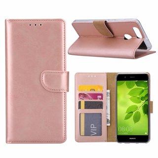 Bookcase Huawei Nova 2 Plus hoesje - Rosé Goud