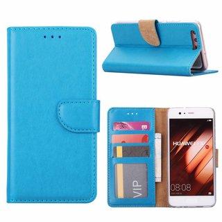 Bookcase Huawei P10 hoesje - Blauw