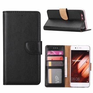 Bookcase Huawei P10 hoesje - Zwart