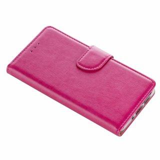 Bookcase Huawei P10 Lite hoesje - Roze