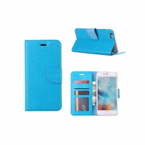 Bookcase Apple iPhone 6 Plus / 6S Plus hoesje - Blauw