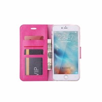 Bookcase Apple iPhone 6 Plus / 6S Plus hoesje - Roze