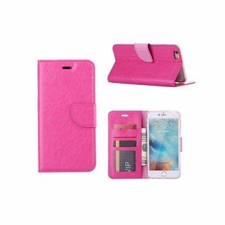 Bookcase Apple iPhone 6 Plus / 6S Plus hoesje - Roze