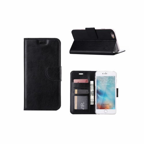 Bookcase Apple iPhone 6 Plus / 6S Plus hoesje - Zwart